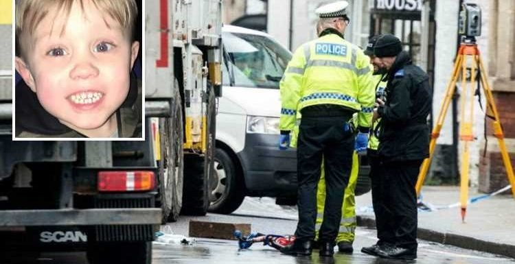 Parents storm out of court in fury as lorry driver who killed son, 3, while 'sarcastically' clapping another motorist is cleared of dangerous driving