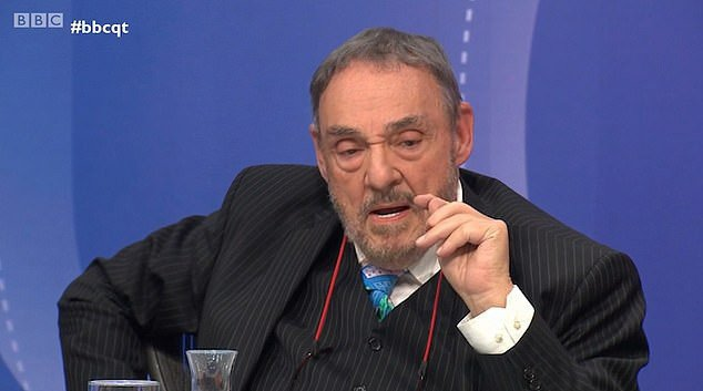 Lord Of The Rings star John Rhys-Davies gets standing ovation for blasting politicians over Brexit betrayal on Question Time