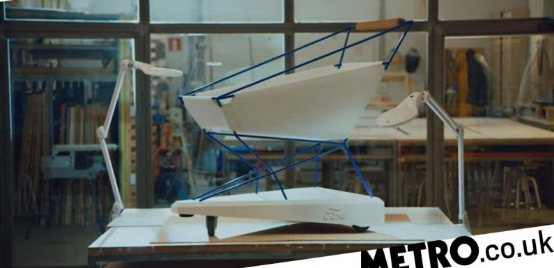 Ford creates smart shopping trolley which brakes automatically to stop crashes