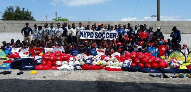 Inside the NYPD soccer team's humanitarian mission