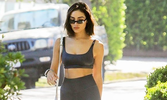 14 Stars Casually Wearing Sports Bras Out On The Town: Olivia Culpo & More