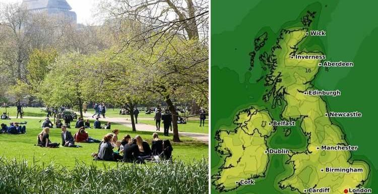 UK weather forecast – Britain to bake in 23C four-day Easter scorcher after icy blast from Scandinavia