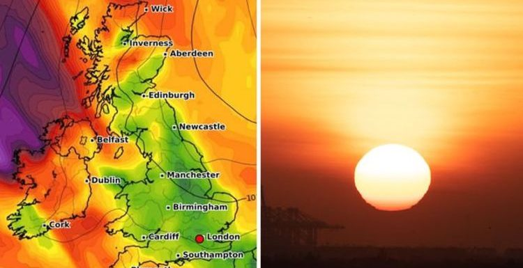 UK weather forecast: Britain to OVEN BAKE in Easter weekend SCORCHER after mid-week misery