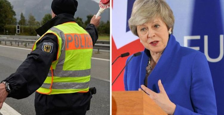 German customs officers scramble for Brexit emergency plan 'we don't know what to expect!'