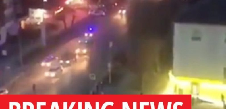 BREAKING: Machine gun fire as ISIS terror cell clashes with police in Russia