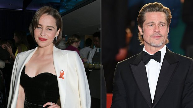 Emilia Clarke's Embarrassing Encounter with Brad Pitt Involved a Horse Heart and $120,000