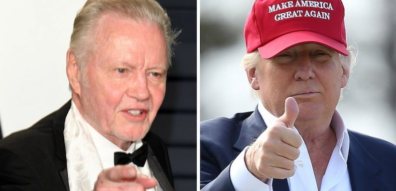 Angelina Jolie's Dad Claims Donald Trump Is the 'Greatest President Since Abraham Lincoln'