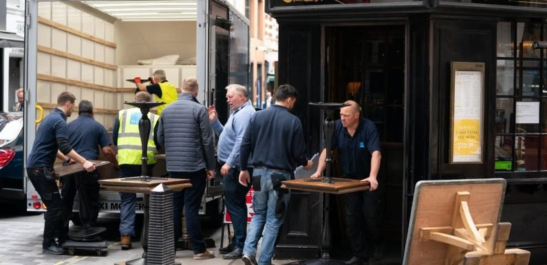 Jamie Oliver's London restaurant cleared out by bailiffs
