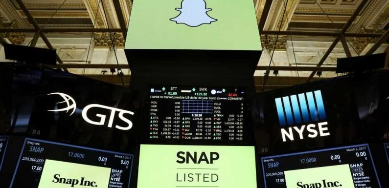 Snap shares jump after report of talks with major music studios