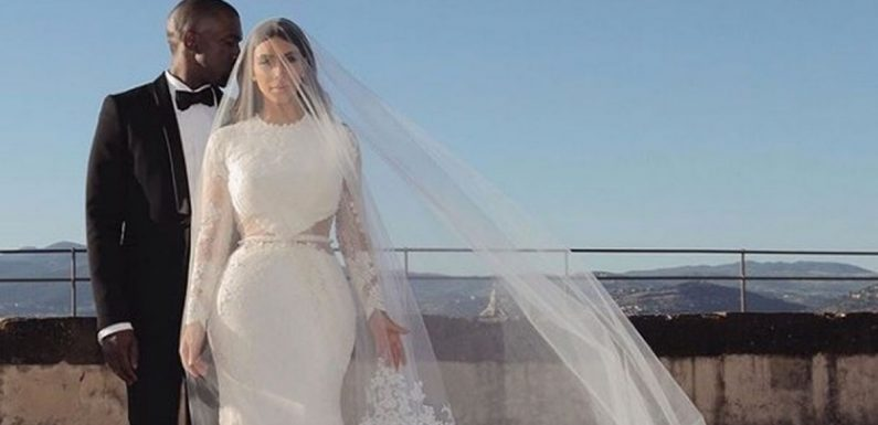 Inside Kim and Kanye's lavish wedding as they celebrate fifth anniversary