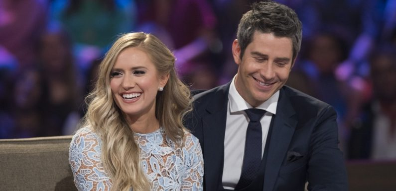 'The Bachelor's Arie & Lauren Just Welcomed Their First Child & Here's What We Know So Far
