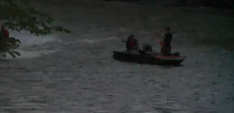 4-year-old boy missing after being swept away in flooded Indiana creek