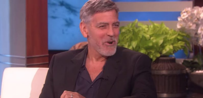 George Clooney Shares His Thoughts on Baby Archie's Name, and Oh, He's Got Jokes