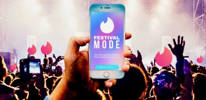 Tinder Wants To Help You Meet Someone At Your Next Music Festival