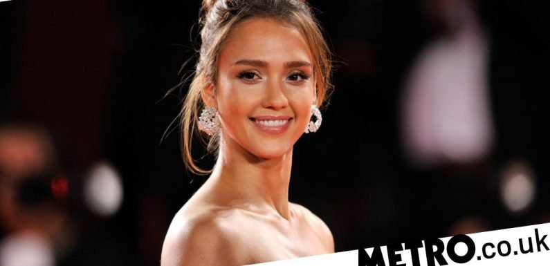 Jessica Alba 'stopped eating' because she was ashamed of 'tempting men'