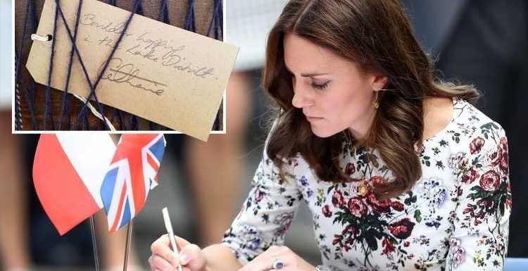 Kate Middleton's scrawl reveals she's a 'bossy perfectionist' who 'enjoys being in charge', handwriting expert claims – The Sun