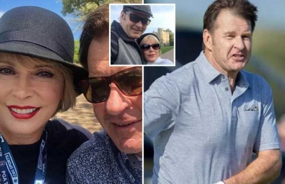 Golf legend Nick Faldo's new girlfriend is former topless dancer who's been married SIX times