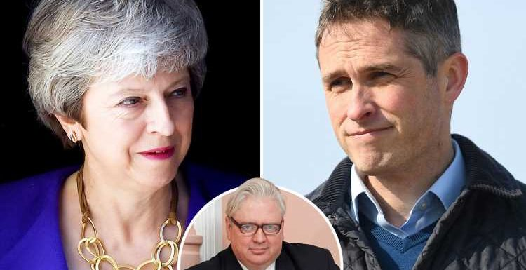 Theresa May is the one who's the real threat to national security after she sacrificed Gavin Williamson to save her own skin