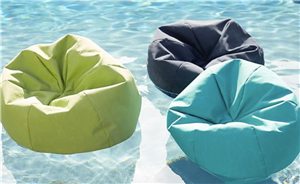 You Can Spend Your Summer Lounging In Pottery Barn's Floating Bean Bag Chairs