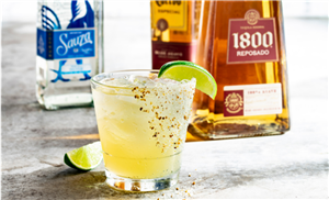 Chili's' May 2019 $5 Margarita, The Tequila Trifecta, Is Like A Fiesta In A Glass