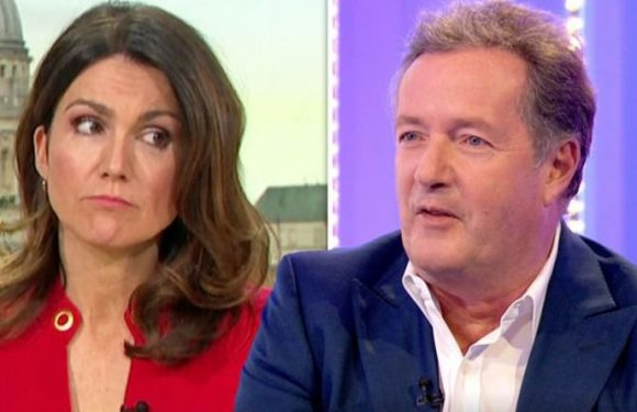 Piers Morgan: 'Is it that obvious?' GMB star makes cheeky comment about Susanna Reid