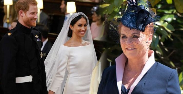 Where did Sarah Ferguson sit at Prince Harry's wedding? The thoughtful gesture on big day