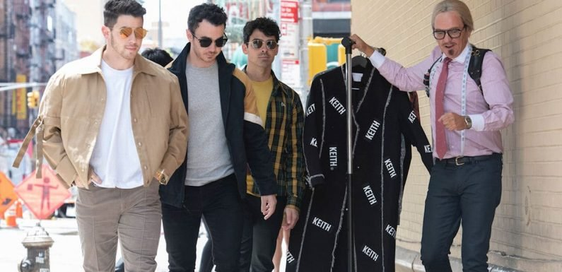 Jonas Brothers Team Up with Chris Lilley for Faux Fashion Project