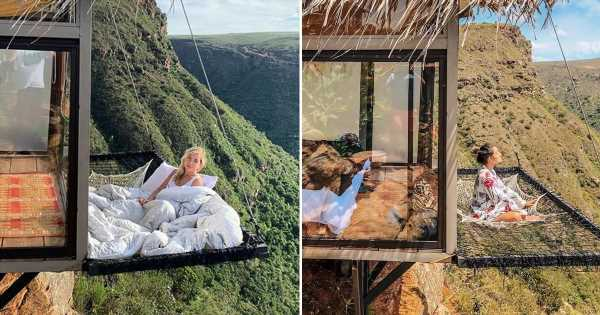 This Stunning Hotel in Colombia Has Suspended Nets Outside the Rooms For the Ultimate View