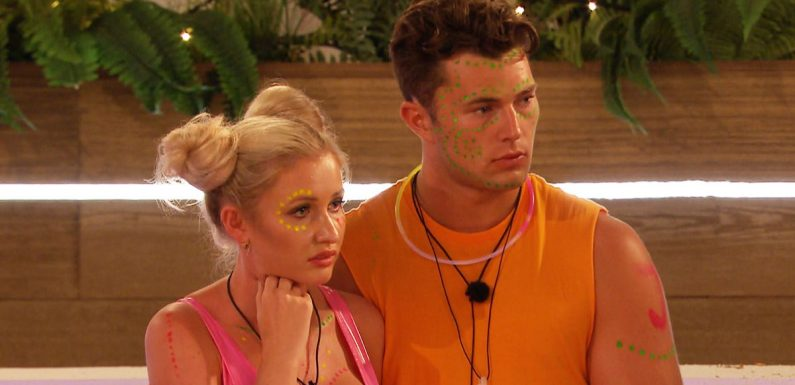 Love Island fans fear there's secret plot to stop them voting Curtis and Amy out