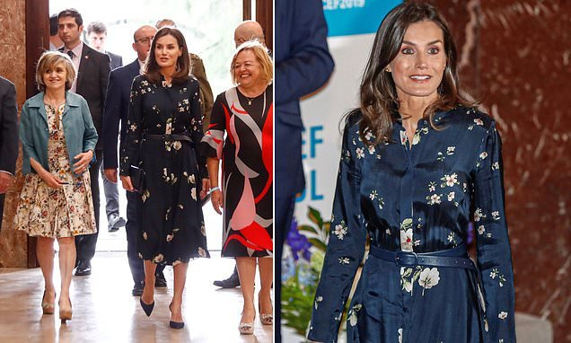 Queen Letizia of Spain attends the UNICEF Spanish Committee Awards