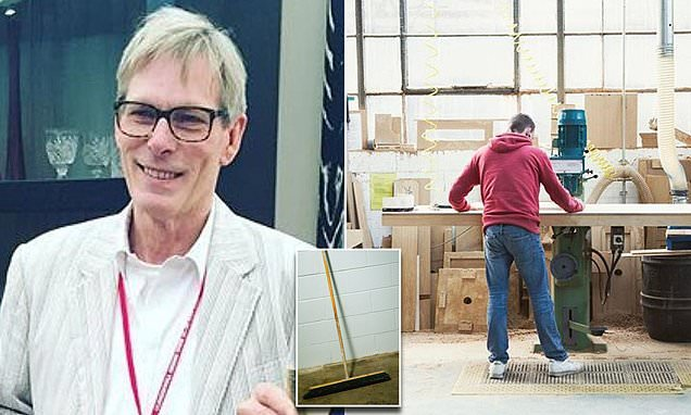 Furniture maker to Theresa May is told to stop using a BROOM