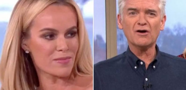 This Morning star says Amanda Holden 'should be sacked' amid Phillip feud