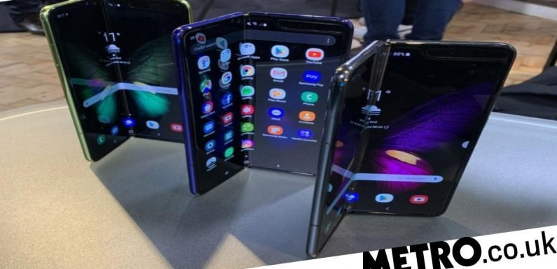 Samsung 'postpones release of the world's first foldable smartphone'