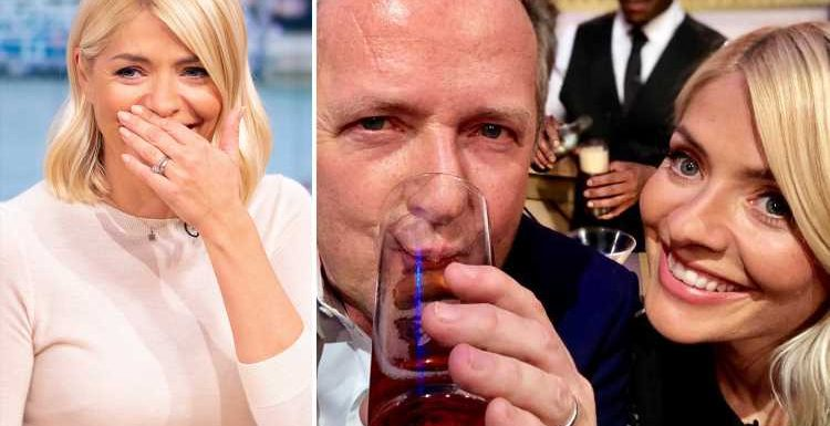 Piers Morgan says Holly Willoughby is 'a very dangerous' woman who can 'party for days' like a rock star
