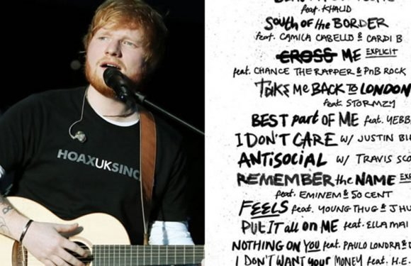 Hot Damn — Ed Sheeran Is Collaborating With Just About Everyone on His New Album