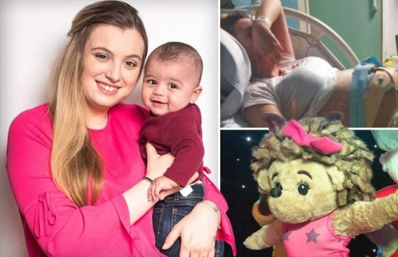 I found out I was SEVEN months pregnant when I fainted while performing in a hedgehog outfit – The Sun