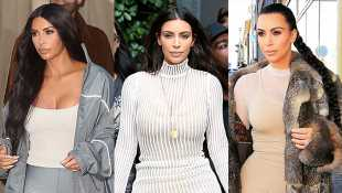 Happy Birthday, Kanye West: 10 Times Kim Kardashian Looked Sexy In Rapper's Yeezy Clothes