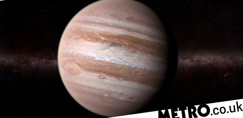 You should be able to see Jupiter from your back garden tonight
