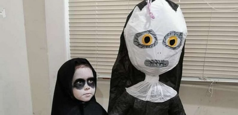Twitter has strong feelings about this 3-year-old's scary 'Nun'-themed birthday party