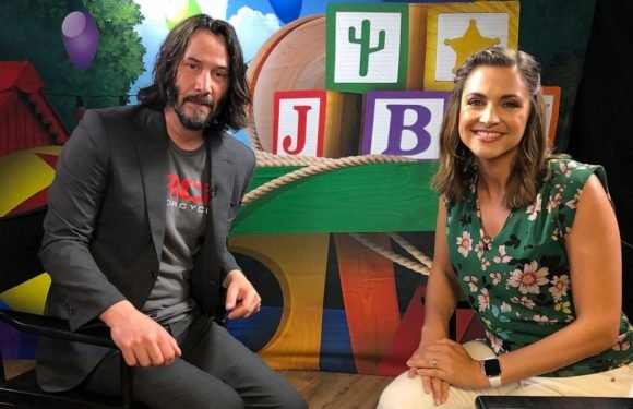 Keanu Reeves gets into character for 'Toy Story 4,' expresses his 'inner Duke Caboom'