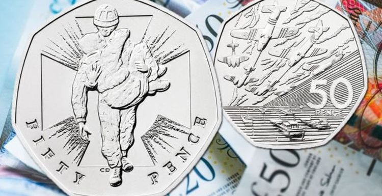 50p: NEW fifty pence coins set to be incredibly RARE on sale today by Royal Mint