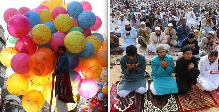 Eid Mubarak! Pictures from around the globe as Muslims celebrate Eid