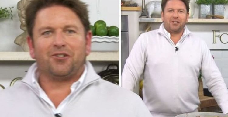 James Martin: Saturday Morning presenter mocks his production team 'Too much time'