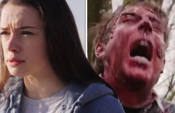 Star Wars fans baffled as Rey star Daisy Ridley appears in GORY low-budget horror movie