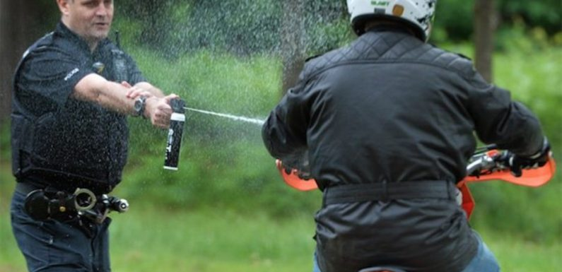 Brit police force rolls out water pistols to take on motorbike yobs