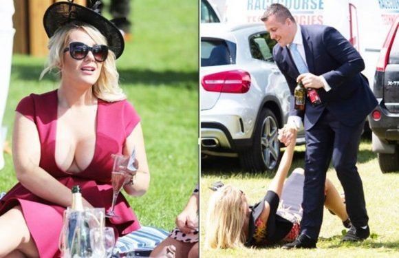 Royal Ascot punters hit the booze on Ladies Day as bookies avoid bloodbath