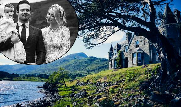 Inside Affric Lodge, the 10,000 acre Scottish estate which hosts Vogue Williams' most important family moments