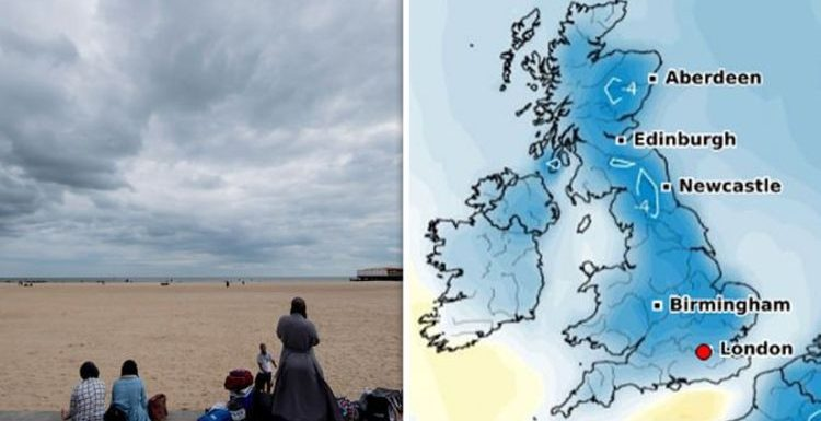 UK weather forecast: 'Outbreaks of rain' hit before heatwave scorches UK says Met Office