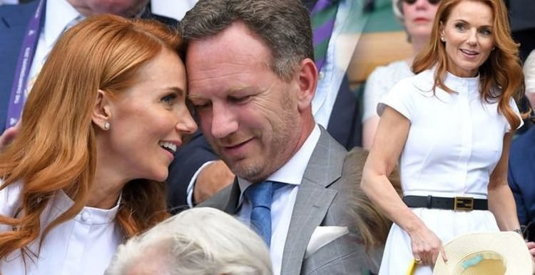Geri Horner looks smitten with husband Christian on loved-up Wimbledon 2019 outing