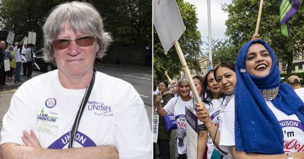 The NHS hospital workers joining the picket line to fight backdoor privatisation